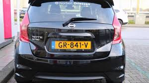 2016 nissan altima with spoiler nissan note 1 2 dig s 98pk n tec spoiler youtube