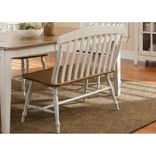 Liberty Furniture Dining Table by Liberty Furniture Canton Slat Back Bench Hayneedle
