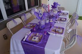 Sofia Decorations Sofia The First A 3rd Birthday Party For Our Princess Grow Gators
