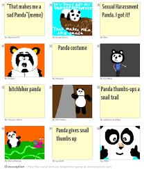 Sad Panda Meme - sad panda meme meme center