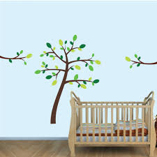 brown jungle tree wall decals tree branch wall decor for boy green brown jungle tree wall decals tree branch wall decor for boy