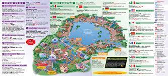 Maps Florida Epcot Center Map Epcot Disney World Map Florida Usa