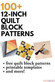 346 best quilt block patterns images on pinterest quilt blocks