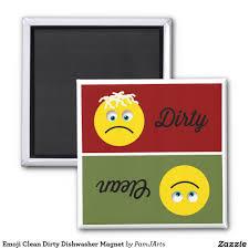 emoji clean dirty dishwasher magnet the o u0027jays hair and magnets