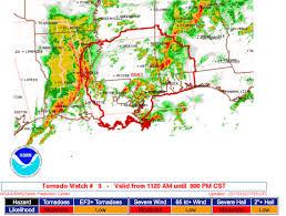 Tornado Map Mike Smith Enterprises Blog Second Tornado Watch Includes New
