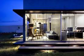 Glass And Concrete House by Architecture Beautiful Modern Architecture Of Box House With