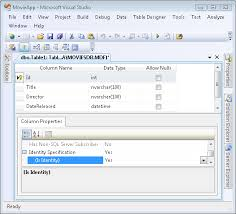 create a movie database application in 15 minutes with asp net mvc