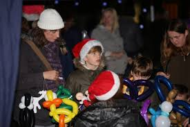 welwyn garden city christmas lights switch on pictures welwyn