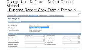 Template Expense Report by People Soft Travel And Expense Advanced Topics Ppt Video Online