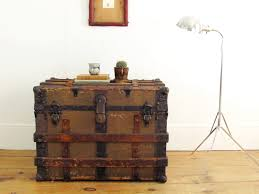 antique trunk trunk coffee table antique trunk wooden trunk