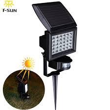 wireless led outdoor flood lights t sunrise pir outdoor lighting solar l led spotlight waterproof