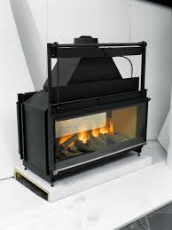 cool are wood burning fireplace inserts efficient small home