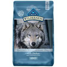 blue buffalo blue wilderness chicken recipe dry dog food petco