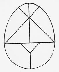easter egg tangram what shapes do i have what kind of triangles