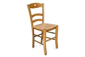 chaise en bois et paille chaise bois et paille chaise en bois silva avec assise en paille