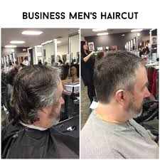 business men u0027s haircut clipper up to finger length haircuts