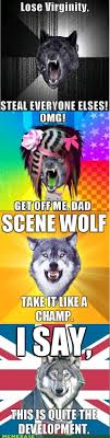 Scene Wolf Meme - scene wolf pictures funscrape