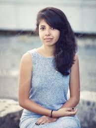 hispanic hair pics portrait of beautiful hispanic latino white girl woman with brown