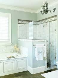 bathroom shower wall ideas best 25 half wall shower ideas on half glass shower