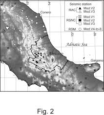 Map Of Central Italy by The Instrumental Seismicity Of The Abruzzo Region In Central Italy
