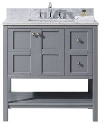 36 Bathroom Vanity With Drawers by Winterfell 36