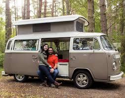 classic volkswagen cars classic vw campervan hire royal deeside scotland deeside