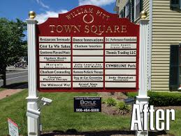 want to get more business try giving your business sign a face