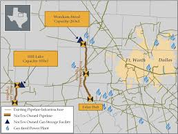 Ft Worth Map Nortex Midstream Partners Our Facilities