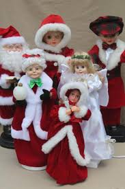 animated figures large moving dolls santa for