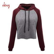 2017 new design women cotton hoodie wholesale pullover hoodies