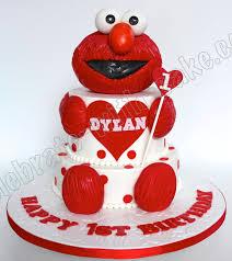 celebrate with cake 1st birthday baby elmo cake