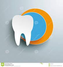 halloween background dental white tooth blue orange design royalty free stock photo image