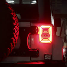 jeep back lights led y accesorios jeep wrangler led u0026 angel eyes chile