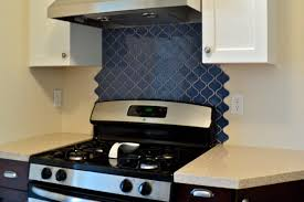 kitchen backsplash behind stove peel and stick tile backsplash
