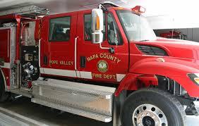 Vacaville Wildfire Map by Lake Berryessa News