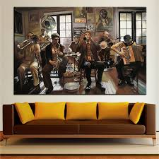 New Orleans Wall Decor Prepossessing 80 Jazz Wall Art Decorating Design Of Awesome Jazz