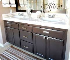 how to refinish bathroom cabinets bold ideas how to refinish bathroom cabinets interesting design