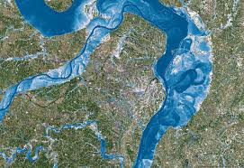 flood map flood maps can get much sharper with a supercomputing oomph