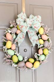 how to make easter wreaths easter egg wreath easter wreaths and egg
