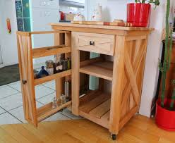 ana white modified version of the rustic x small rolling kitchen