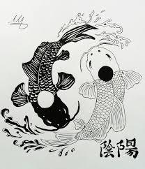 yin yang koi fish by martynes9n on deviantart