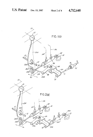 patent us4712640 hydraulic remote control for motor vehicle