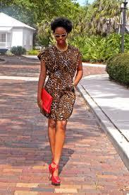 dark brown leopard print dresses red strappy heels