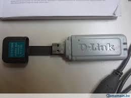 d link clé usb wifi 802 11g dwl g122 54mb carte réseau d link clé wifi d link dwl g122 norme g a vendre 2ememain be
