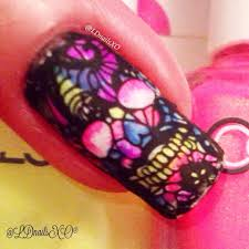 how to sugar skull nail art youtube