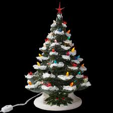 ceramic christmas tree with lights christmas christmas ceramic tree light up interesting
