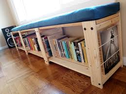 bookcase bench bookshelves bench with bookcase