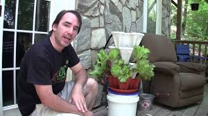 How To Build A Vertical Hydroponic Garden Mr Stacky Hydroponics Planters Urban Gardening How To Youtube