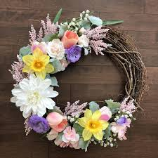 spring wreaths for front door spring wreath easter wreath easter wreaths for front door spring