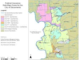 using gis to determine flooding issues for the sacramento area